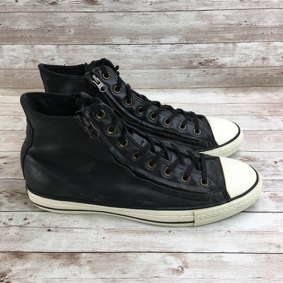 Converse Chuck Taylor Double Zip Leather Hi Top